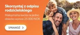 Odpis rodzicielski - rozliczenie podatkowe w Norwegii