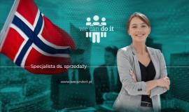 Specjalista ds. sprzedaży z językiem norweskim