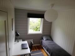 Wolny pokój z tarasem w Arnes (45 km od Oslo) w domu jednorodzinnym