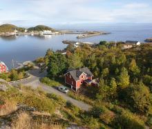 Lofoten-Moskenes-Sørvågen - dom na urlop w pieknych okolicznosciach przyrody