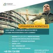 Szkolenia ONLINE Paragraf 17-4 i inne uprawnienia norweskie