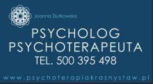 Psycholog, psychoterapeuta - online.