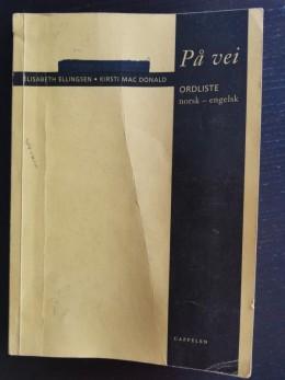 Słownik angielsko- norweski.