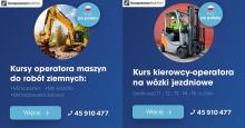 Kursy po POLSKU w Oslo - operator maszyn, na wózki jezdniowe/widłowe oraz HDS