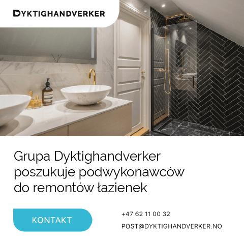 Pracownicy do remontów łazienek - Oslo