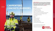 Carpenters and Concrete workers
