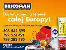 Bricoman Poznań – Nowoczesna Hurtownia Budowalna