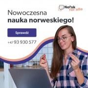 Norsk for alle - Profesjonalne kursy języka norweskiego online